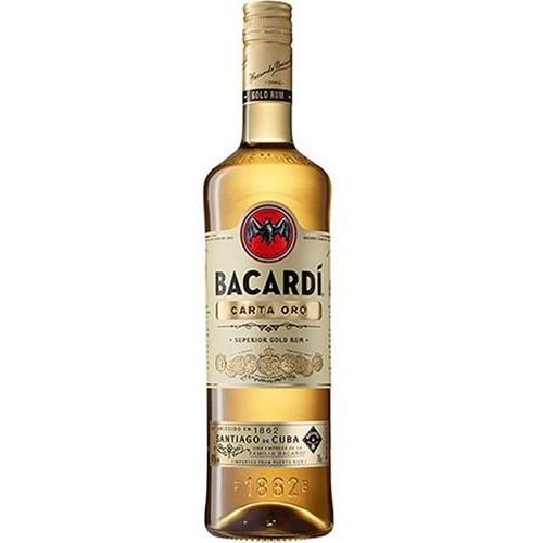 BACARDI CARTA ORO  RUM 980 ML