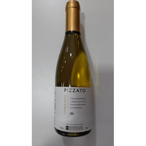 VINHO CHARDONNAY PIZZATO 2019 375 ml