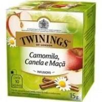 Cha Twinings Camomila, Canela e Maça  10x1,5g