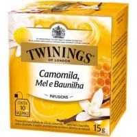 Cha Twinings Camomila, Mel E Baunilha  10x1,5g