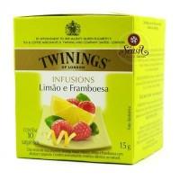 Cha Twinings Limao e Framboesa  10x1,5g