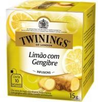 Cha Twinings Limao e Gengibre  10x1,5g