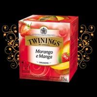 Cha Twinings Morango e Manga  10x1,5g
