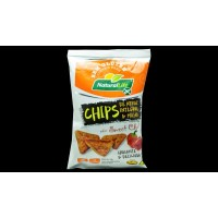 CHIPS DE ARROZ INTEGRAL E MILHO SABOR  SWEET CHILI NATURALLIFE SEM GLÚTEN 70 G