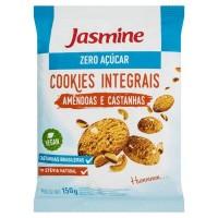 COOKIES Integrais Amêndoas e Castanha Zero Açucar - Jasmine 150 G