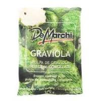 Polpa de Graviola 5 UND. Congelada - De Marchi  500g